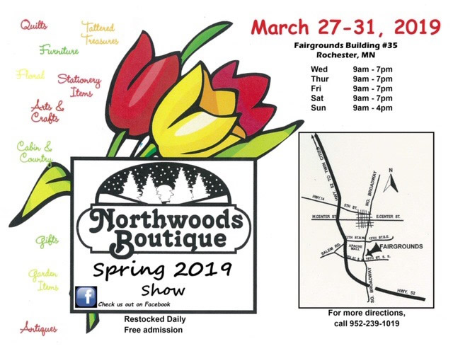 EVENT: Northwoods Boutique Spring 2019 Show