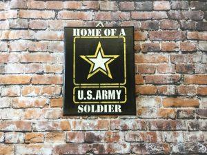Military Plaque
