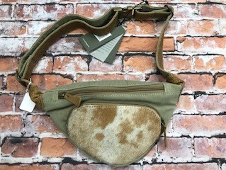 Olive Colored Fanny Pack