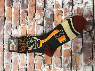 Whiskey Socks Single Malt Double Malt