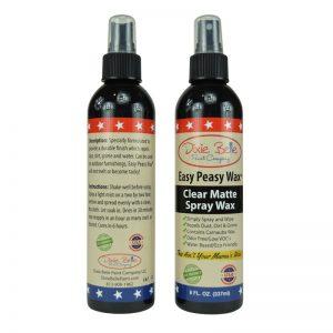 Clear Matte Spray Wax