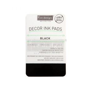 Black Decor Ink Pad