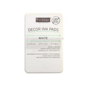 White Decor Ink Pad