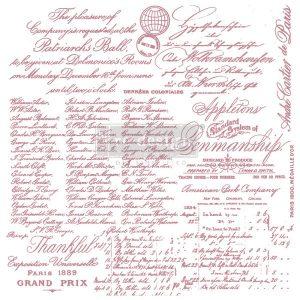 Handwritten Note Decor Stamp