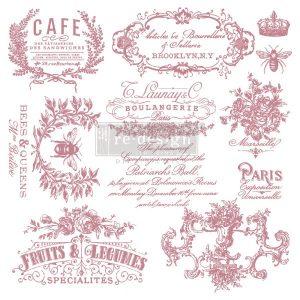 I See Paris Decor Stamp
