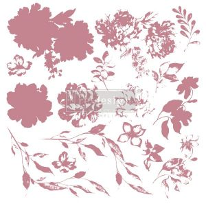 Sweet Blossoms Decor Stamp