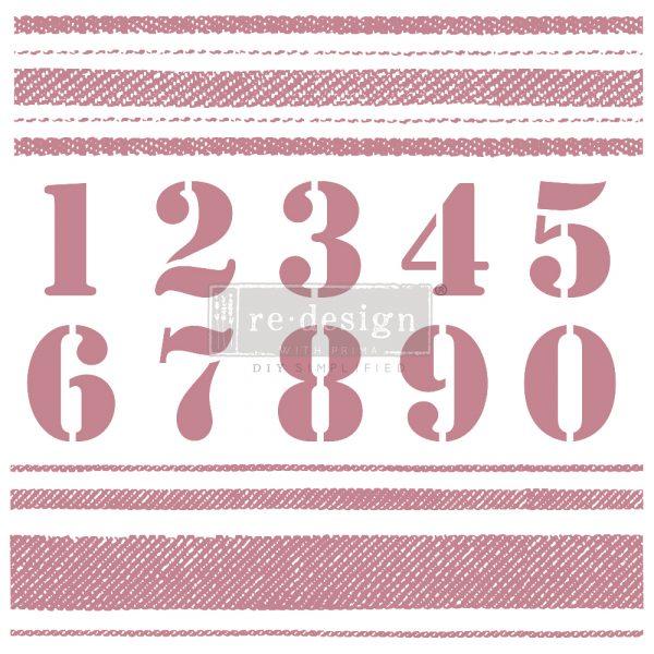 Prima Decor Stamp Stripes